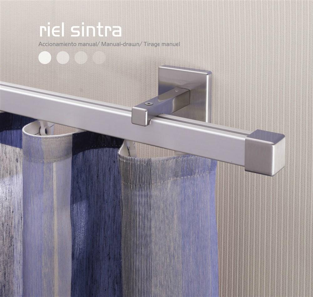 Riel carril cortina onda perfecta for Rieles de aluminio para toldos